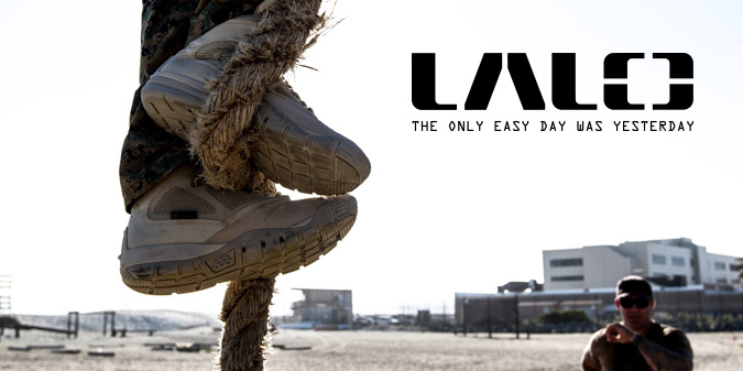 LALO Navy SEAL boots