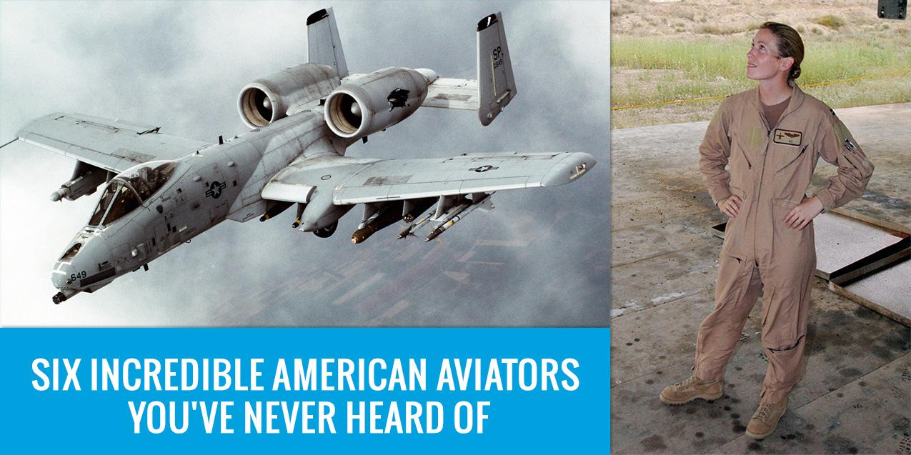 Six Incredible American Aviators You've Never Heard Of