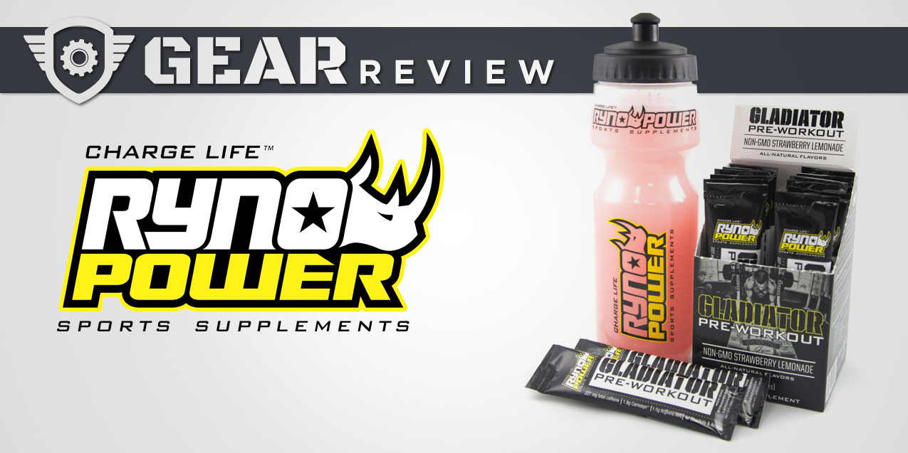 Enter the Arena with Gladiator Pre-Workout Powder