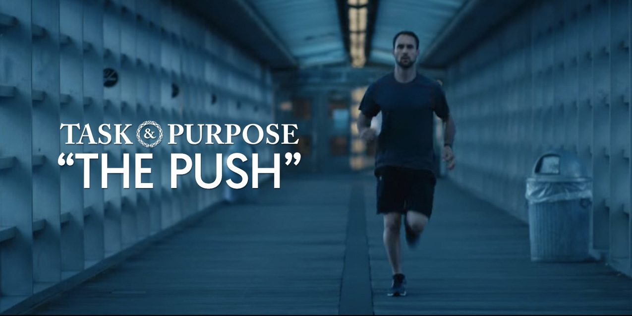 New Commercial Shows 'The Push' That Many Veterans Feel