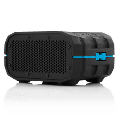 Picture of BRV-1 Portable Wireless Speaker - Black/Cyan