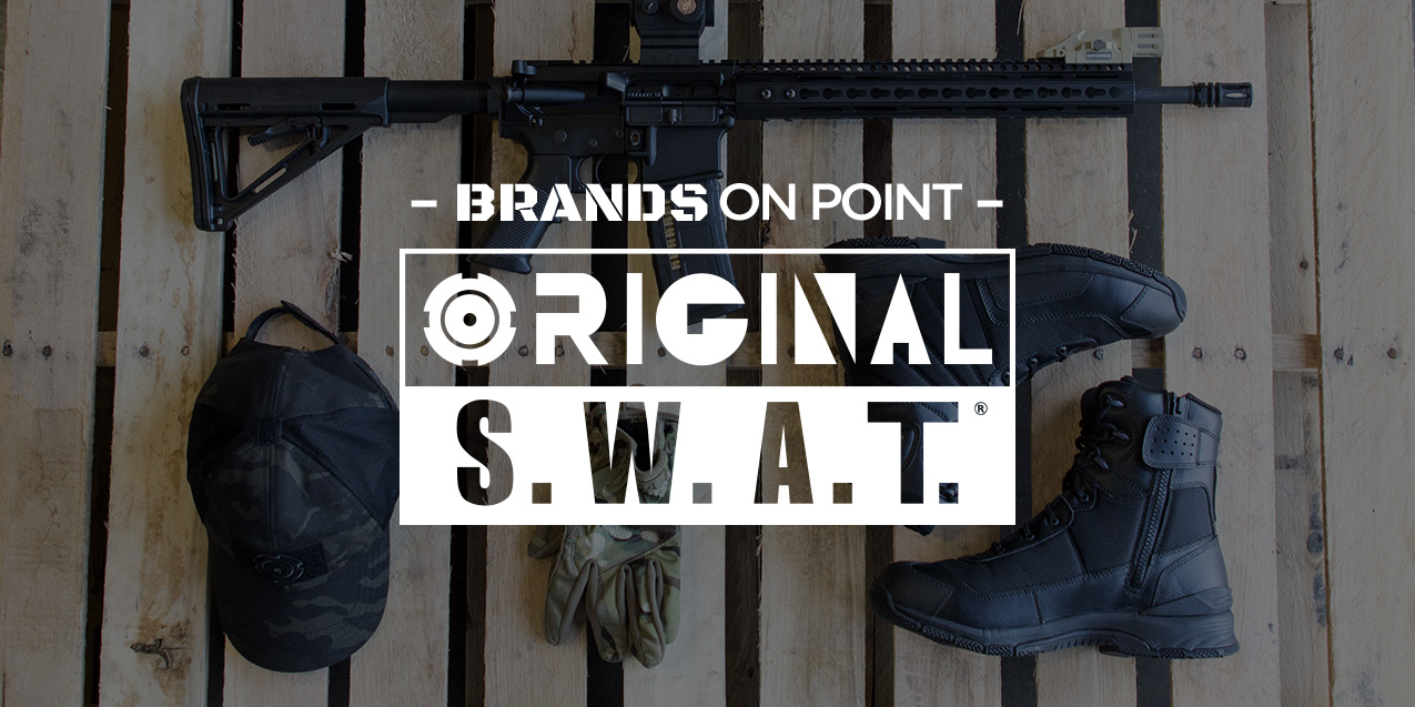 Original SWAT: On-Duty Boots Made for the People