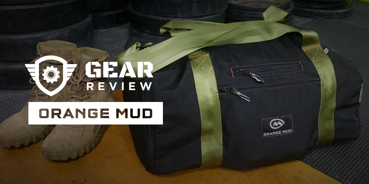 A Made-in-USA Gym Bag Designed for Active Duty Athletes