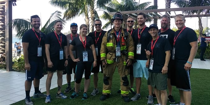Count Us in for Next Year: GovX Staff Joins the 9/11 Stair Climb