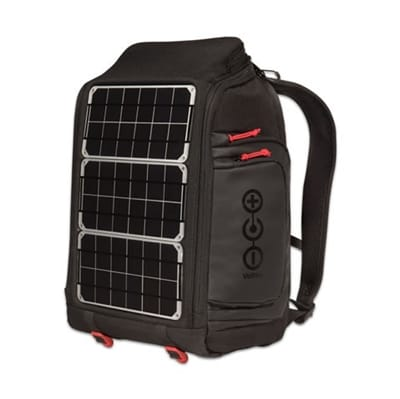 Picture of Array Solar Laptop Backpack - Charcoal