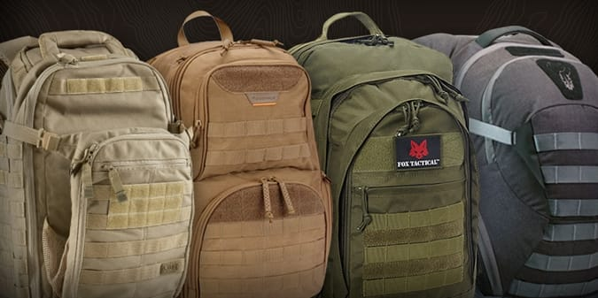 Try to Choose a Favorite Among These Six Tactical Backpacks