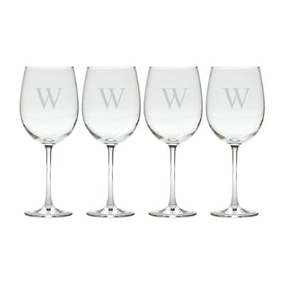 Carved Solutions - Tulip Wine Set